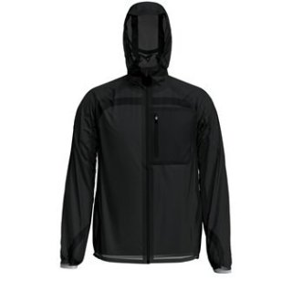 JACKET ZEROWEIGHT DUAL DRY WATER PROOF - BLACK