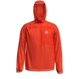 JACKET ZEROWEIGHT DUAL DRY WATERPROOF - MANDARIN RED
