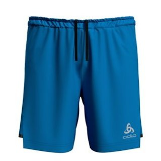 2 IN 1 SHORTS ZEROWEIGHT CERAMICOOL PRO - BLUE ASTER   BLACK