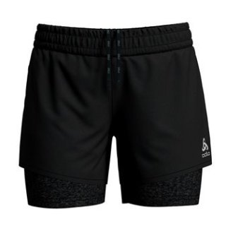 2 IN 1 SHORTS MILLENNIUM PRO - BLACK