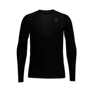 BL TOP CREW NECK L/S PERFORMANCE LIGHT - BLACK