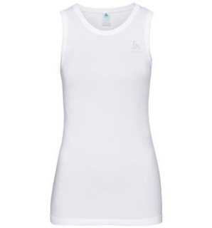 BL TOP CREW NECK SINGLET PERFORMANCE LIG - WHITE