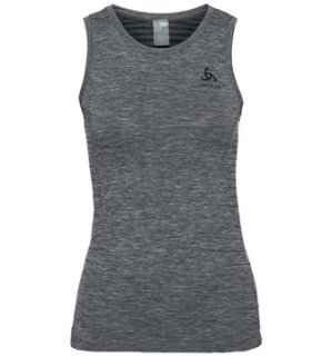 BL TOP CREW NECK SINGLET PERFORMANCE LIG - GREY MELANGE