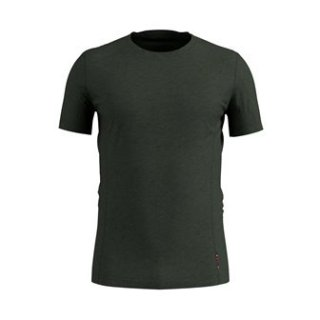 BL TOP CREW NECK S/S NATURAL + LIGHT - CLIMBING IVY