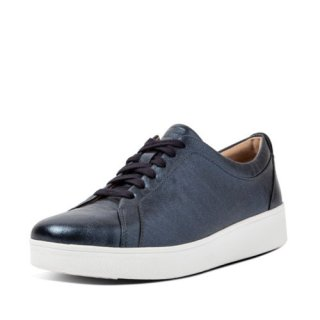 RALLY CRINKLE SHIMMER SNEAKERS - MARITIME BLUE AW02