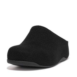 SHUV FELT CLOGS - ALL BLACK