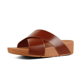 LULU TM CROSS LSIDE SANDALS LEATHER - LEATHER es