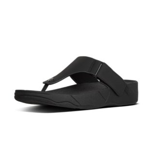 TRAKK II IN NEOPRENE - TOE-THONGS - BLACK CO