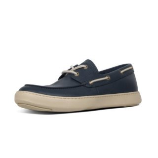 LAWRENCE BOAT SHOES - MIDNIGHT NAVY CO