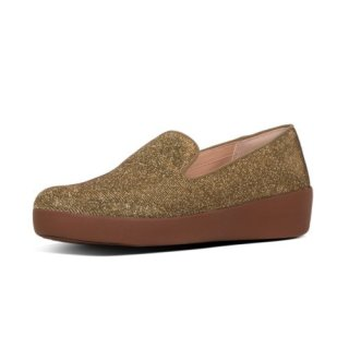 AUDREY GLITZY - LOAFERS - ARTISAN GOLD es