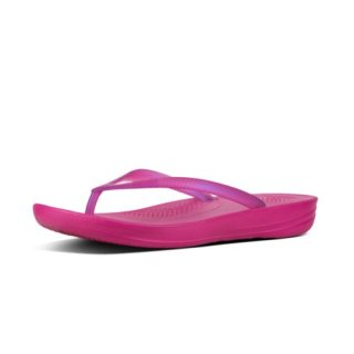 iQUSION - PEARLISED - FLIP FLOPS - PSYCHEDELIC PINK es