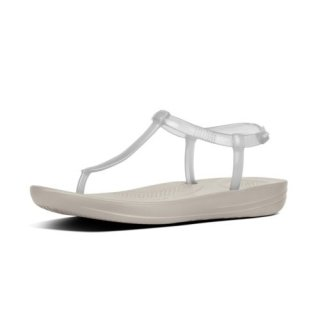 iQUSION SPLASH - PEARLISED - BACK-STRAP SANDALS - URBAN WHITE es