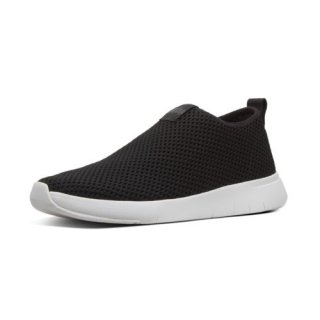 AIRMESH - SNEAKERS HIGH TOP - BLACK AW01