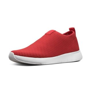 AIRMESH - SNEAKERS HIGH TOP - PASSION RED CO