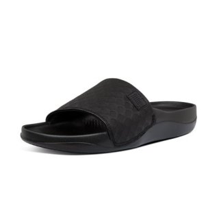 BEACH POOL SLIDES - ALL BLACK