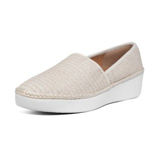 CASA ESPADRILLE LOAFERS - STONE