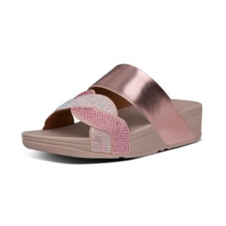 PAISLEY ROPE SLIDES - SOFT PINK