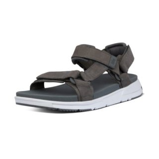 SPORTY BACK STRAP SANDALS - DEEP GREY