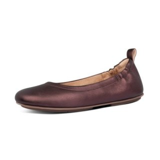 ALLEGRO BALLERINAS - CHOCOLATE METALLIC