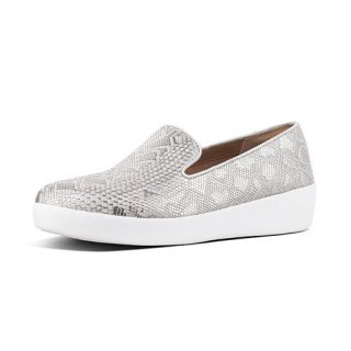 AUDREY PYTHON PRINT SMOKING - URBAN WHITE
