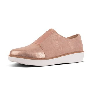 LACELESS DERBY GLIMMERSUEDE - APPLE BLOSSOM