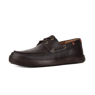 LAWRENCE BOAT SHOES - CHOCOLATE CO