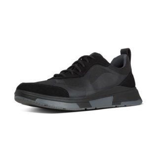 ARKEN SPORTY SNEAKERS - BLACK MIX CO AW01