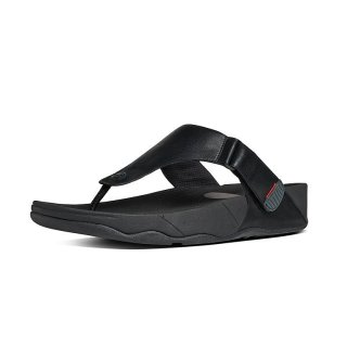 TRAKK II - TOE THONGS - ALL BLACK CO
