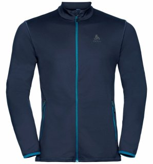MIDLAYER FULL ZIP ALAGNA - DIVING NAVY