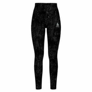 TIGHTS ZEROWEIGHT PRINT REFLECTIVE - BLACK   REFLECTIVE GRAPHIC FW20