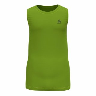 BL TOP CREW NECK TANK ACTIVE F DRY LIGHT - MACAW GREEN